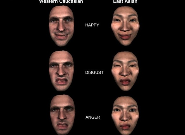 Facial expressions reflect emotional states