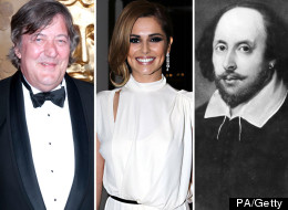 Comedy Shakespeare Cheryl Cole Stephen Fry