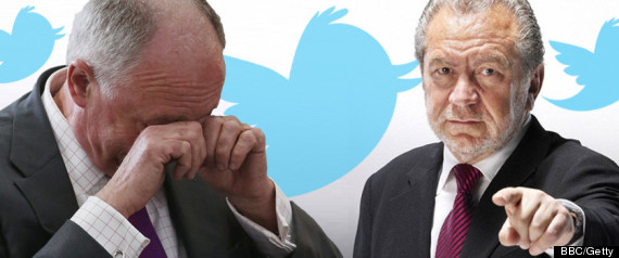 Alan Sugar Ken Twitter Row