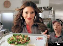 sofia vergara stars in new burger king commercial video