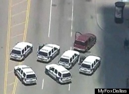 Texas Car Chase