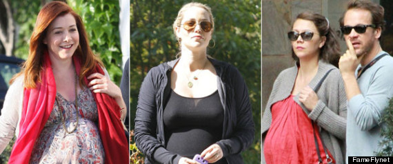CELEBRITY BABY BUMPS