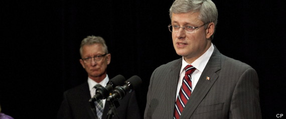 Stephen Harper Crime Victims