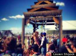 Coachella Wedding 2012