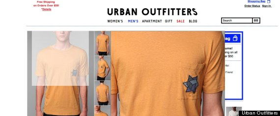 Urban Outfitters u0026#39;Jewish Staru0026#39; T-Shirt Causes Outrage (UPDATE) | HuffPost