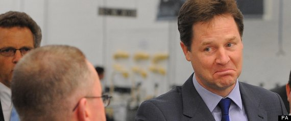 Nick Clegg Lords Reform