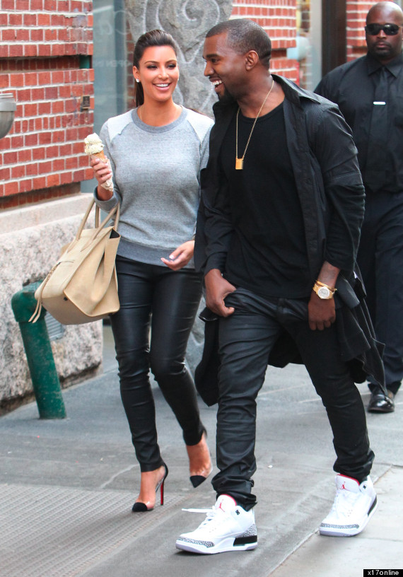 Kanye West couple