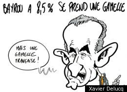 Photos: La journée des élections françaises en dessins