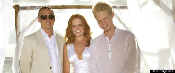 PATSY PALMER WEDDING