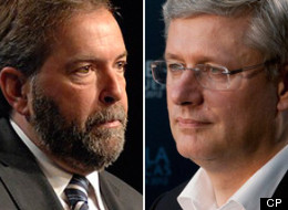 Tom Mulcair Stephen Harper