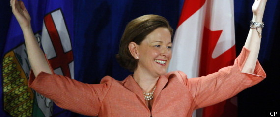 ALISON REDFORD PC MAJORITY ALBERTA