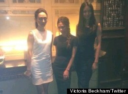 Victoria Beckham Worries She's Shrinking, Plus More Great Twitter Pics From Her Beijing Trip
