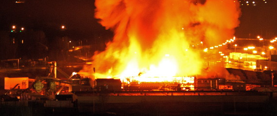 LAKELAND MILLS FIRE EXPLOSION