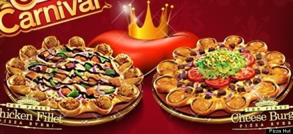 Pizza Hut Middle East Debuts Crusts Made Of Cheeseburgers