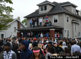 Kent State College Fest Party