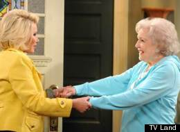 Betty White Joan Rivers Hot In Cleveland