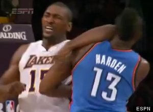 Metta World Peace Suspended