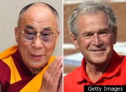 Dalai Lama George W Bush