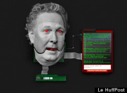 Pied de nez: Jean Charest en générateur de bullshit