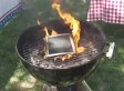 Grilled iPad: BBQ Techies Fire Up Apple Gadget