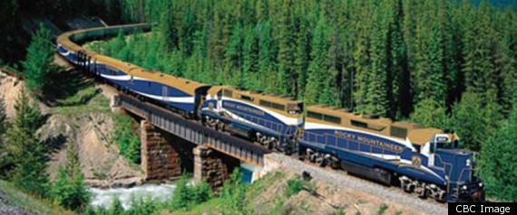 Cool Trains Rocky Mountaineer