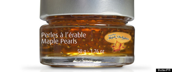 MAPLE SYRUP PEARLS