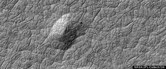 Mars Lava