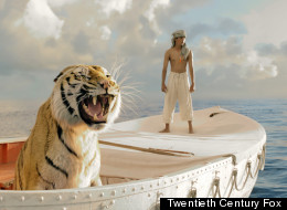 WATCH: 'Life Of Pi' Trailer Debuts With Ferocious CGI Tiger
