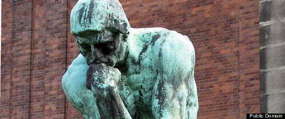 THINKER RELIGIOUS BELIEFS