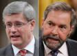 Stephen Harper Jeered For Saying NDP Didn't Support Battle Against Hitler (VIDEO)