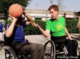 League Of Afghanistan Wheelchair Basketball Film