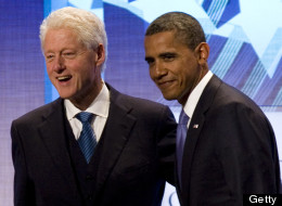 Bill Clinton Obama