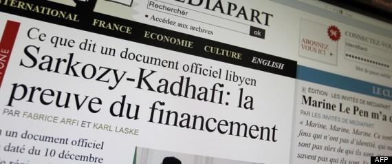 MEDIAPART KADHAFI