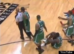 Rondo Ejected As Celtics Fall In Game 1
