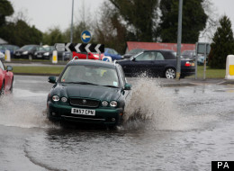 Wet Weather Flood Hampshire