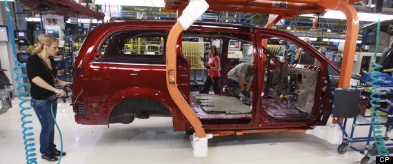 Chrysler Windsor Halts Production