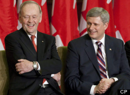 Chretien Harper Queen Job