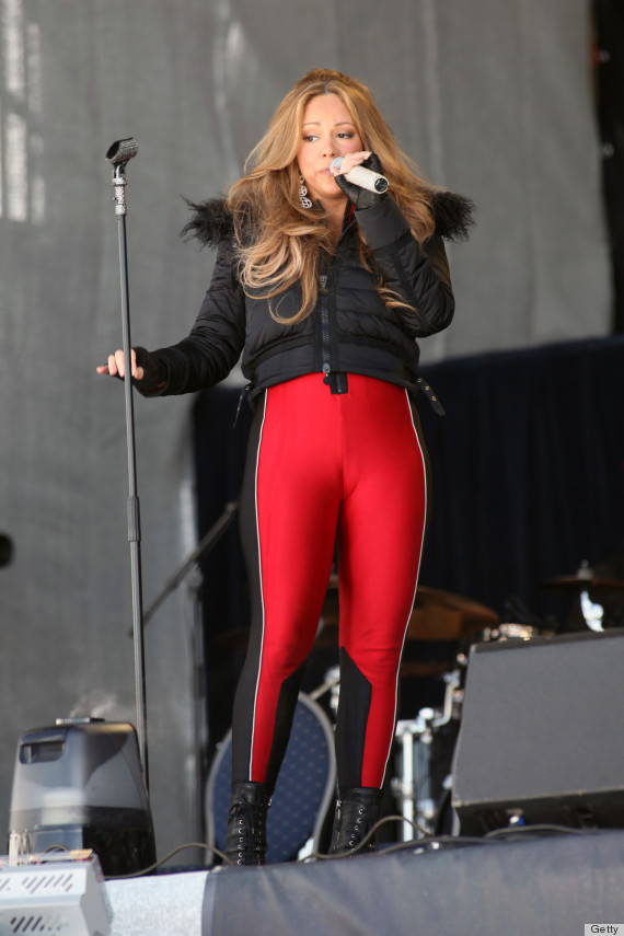 Mariah Carey's Pants Are Too Tight (PHOTOS, POLL)