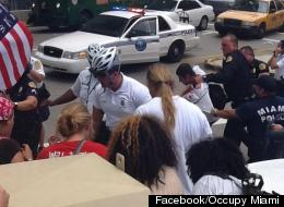 Occupy Miami May Day Violence Arrests Punch