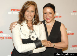 Donna Karan And Sheila Johnson
