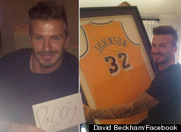 Happy Birthday To Beckham