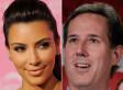 Kim Kardashian Impressed By Rick Santorum And His Daughters