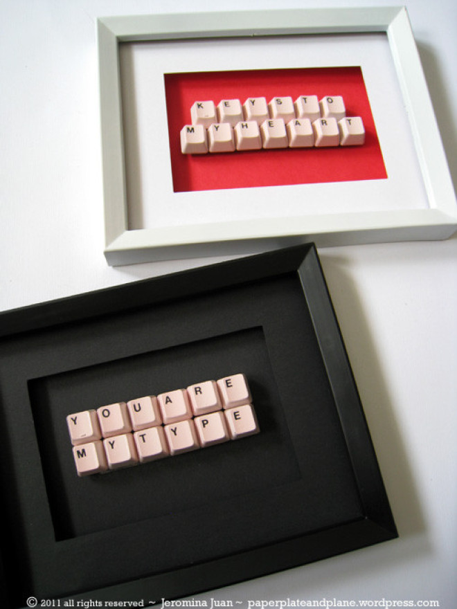 Craft of the day unique gift idea made from a keyboard huffpost keys negle Choice Image