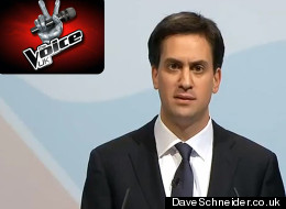 WATCH: Ed Miliband On 'The Voice'