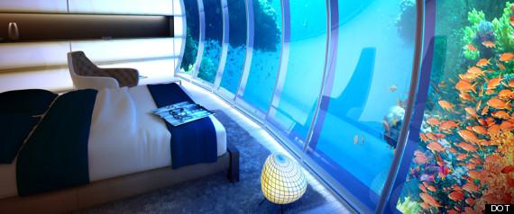 UNDERWATER BED DUBAI