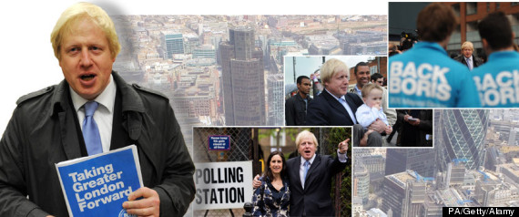 BORIS JOHNSON SPLASH