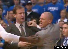 Mavs' Coach Rick Carlisle Goes Berserk