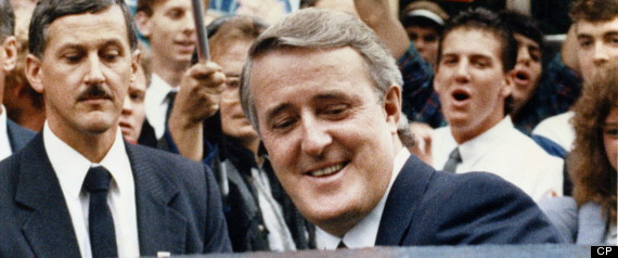 BRIAN MULRONEY ADULATION LOVE