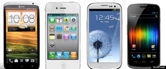 GALAXY S III VS IPHONE 4S