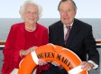 George H.W. Bush, Laura And Family Arrive In New York Following Cruise On Queen Mary 2